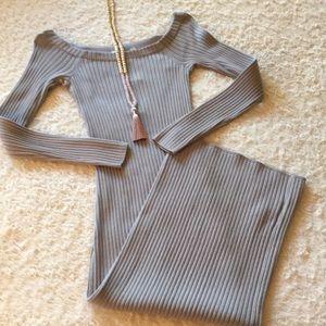 Michael Michael Kors Ribbed Bodycon Dress XS NWT!
